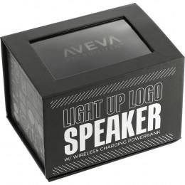 Custom Light Up Logo Speaker Power Bank