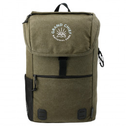 Custom Field & Co. 15'' Woodland Computer Rucksack with Laptop Sleeve