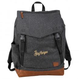 Custom Field & Co. Campster Wool 15'' Laptop Backpack