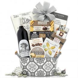Silver Oak Cabernet Wine Basket