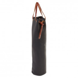 Custom Leather Wine Pouch