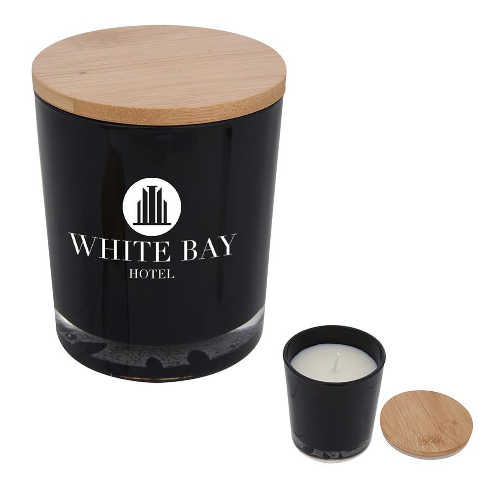 Custom Bamboo Soy Candle