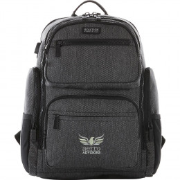 Custom Kenneth Cole Double Pocket 15'' Computer Backpack