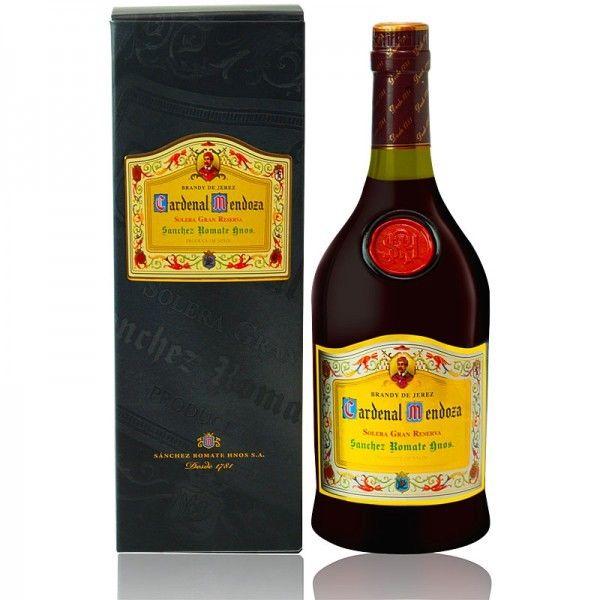 Cardenal Mendoza 750ml Solera Gran Reserva Brandy