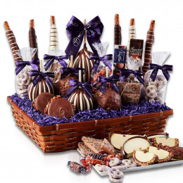 Abundant Caramel Apple Gift Basket