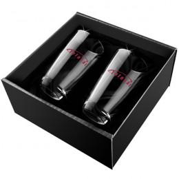 Custom Bellagio Pilsner Glass Set