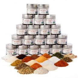 Ultimate Artisan Seasoning and Gourmet Sea Salt Collection
