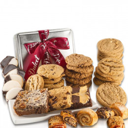 Cookies and Brownies, Best Sellers Treats in a Tin