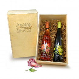 A to Z Wineworks Rose and Riesling 750ml Gift Set