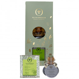 Oliviers and Co Mini Basil Olive Oil & Fig Balsamic Vinegar Duo
