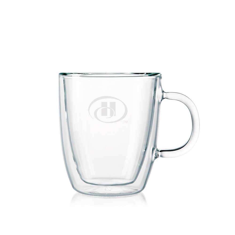 Custom Bodum Bistro 10 Oz Double Wall Mug Set - 2 pcs