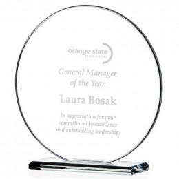 Custom Round Gem Cut Award - Medium