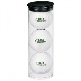 Custom Wilson® Ultra 500 Par Pack with 3 Balls