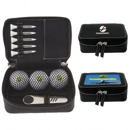 Custom Wilson® Ultra 500 Zippered Golf Gift Kit