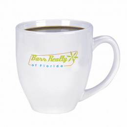 Custom 15 oz. High-Shine Bistro Coffee Mug