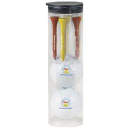 Custom Wilson® Ultra 500 Par Pack with 2 Balls-N-Tees