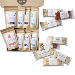Deluxe Coffee and Biscotti Tasting Box