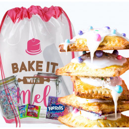 Bake it with Mel 90s Chocolate Pop Tart Baking Kit