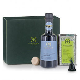 Oliviers and Co Duo Basil Olive Oil & Balsamic Vinegar Gift Set