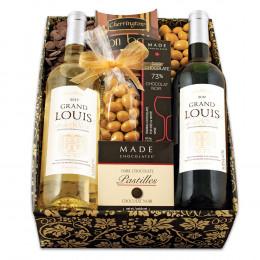 French Duo Wine Gift Box