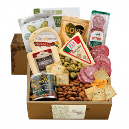 Cheese & Crackers Classic Collection Gift Box - Thank You
