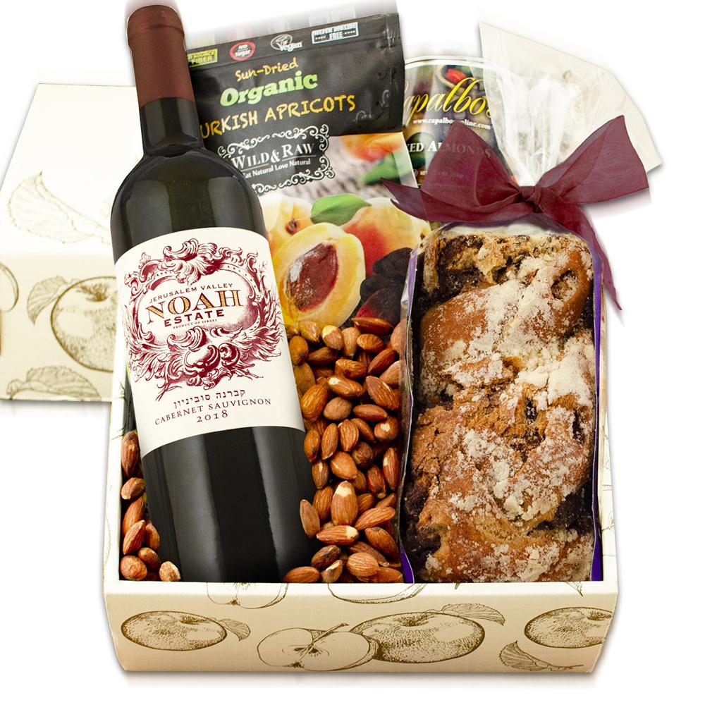 Cabernet & Cake Red Wine Gift Box