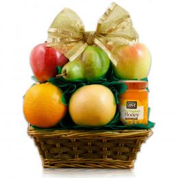 Fruit N' Honey Gift Basket