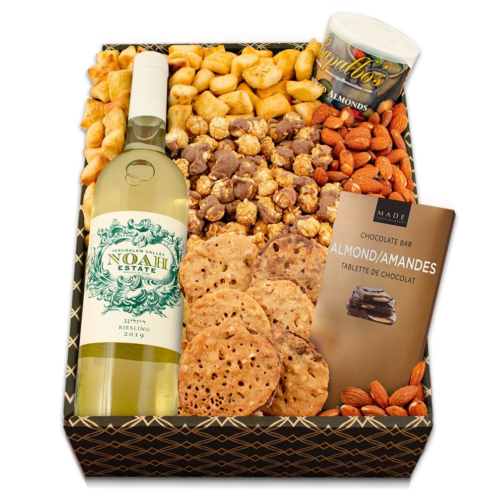 White Wine Party Gift Box