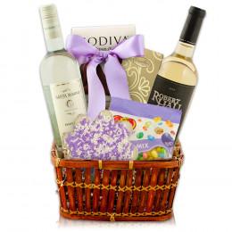 White Wine Duo Gift Basket