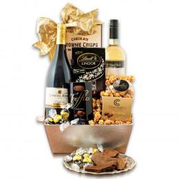 Celebrate Wine Gift Basket