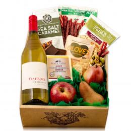Fruit, Cheese & Century Cellars Chardonnay Wine Gift Box