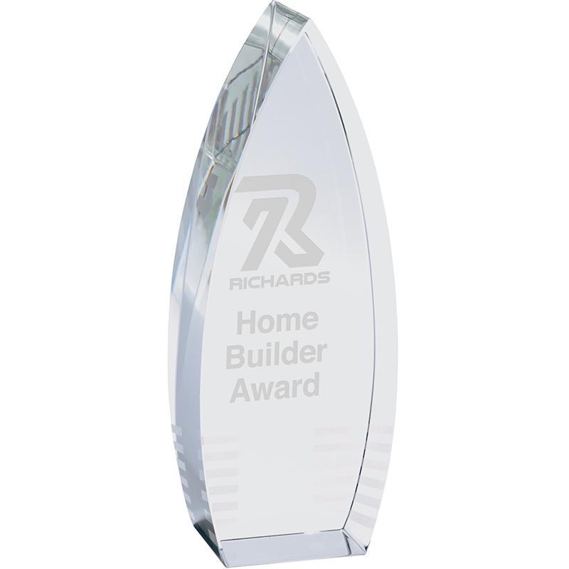 Parma Custom Crystal Tower Award