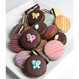 Spring Belgian Chocolate-Dipped OREO® Cookies Gift - 12pc