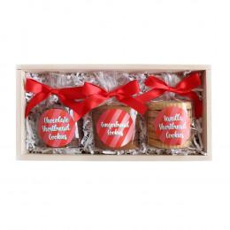 Custom Holiday Gourmet Cookie Set