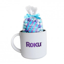 Custom Holiday Candy Mug