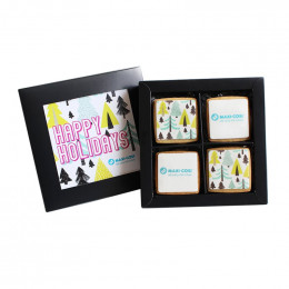 Custom Holiday 12-Piece Iced Cookie Set