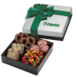 Gourmet Chocolate Covered Treats Gift Box