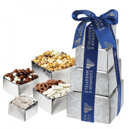 Chocolate Lover's Gift Tower