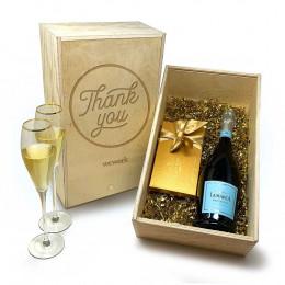 La Marca Prosecco 750ml & Godiva Gift Set
