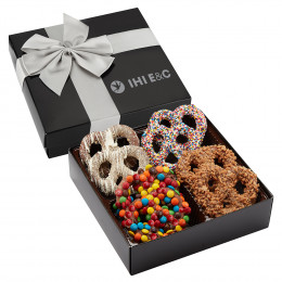 Chocolate Covered Decorated Gourmet Pretzel Assortment