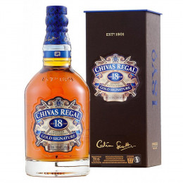 Chivas Regal 1000ml Gold Signature 18-Year-Old Blended Scotch Whisky