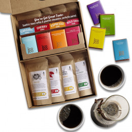 Deluxe Coffee and Chocolate Tasting Box