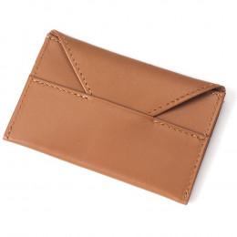 Custom Grained Leather Card Envelope