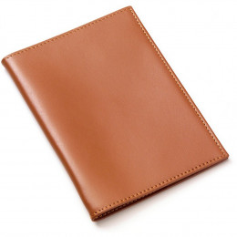 Custom Leather Passport Cover