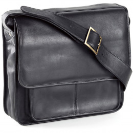 Custom Executive Leather Laptop Mailbag