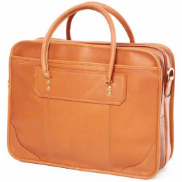 Custom Leather Top Handle Briefcase