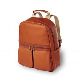 Custom Leather City Laptop Backpack