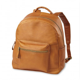 Custom Leather Campus Backpack