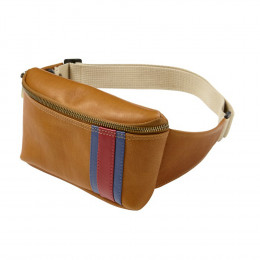 Custom Leather Race Waist Pack