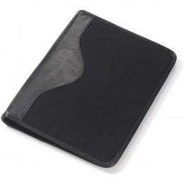 Custom Canvas and Leather Padfolio